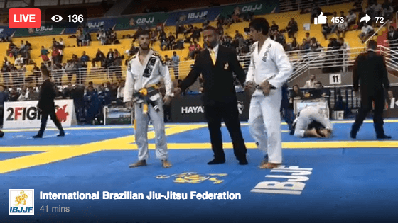 Live Video: IBJJF Brazilian Jiu Jitsu Nationals Day 2