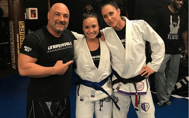 Demi Lovato Earns Her Brazilian Jiu-Jitsu Blue Belt