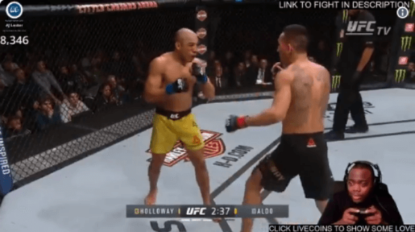 Twitch Streamer Live Streams UFC 218 by Pretending to Play It As a Game