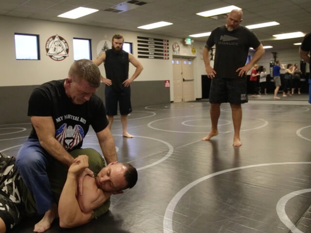 Police Chief Trains Officers in Brazilian Jiu Jitsu
