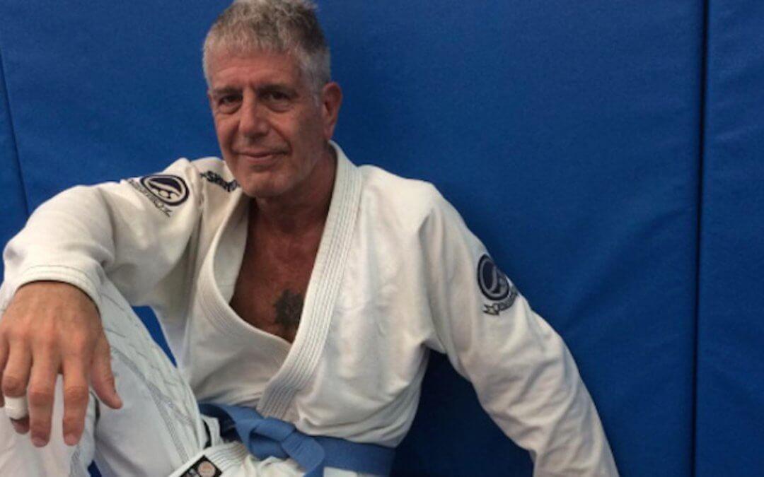 Friend says Jiu Jitsu helped Anthony Bourdain Fight Demons