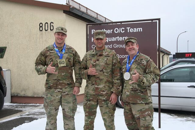 Army Soldiers Medal at Brazilian Jiu-Jitsu European Championship