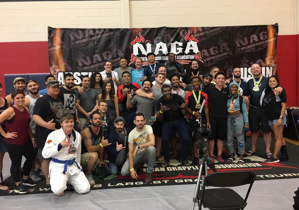 Aces Jiu Jitsu Club Takes the North American Grappling Association Tournament by Storm