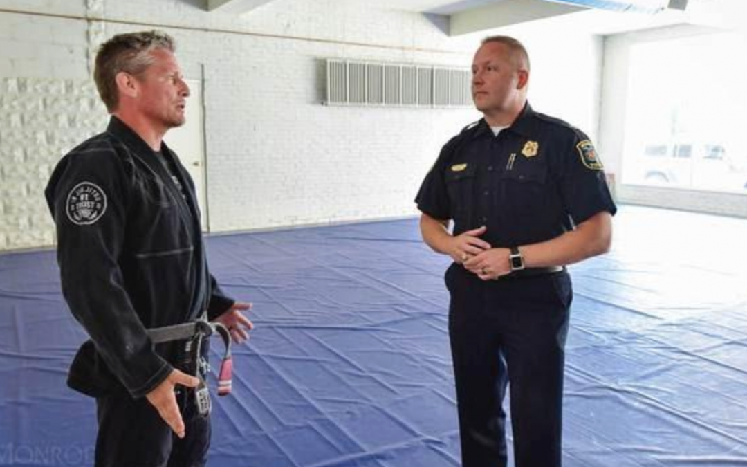 Police Department in Monroe, Michigan Use Jiu Jitsu as Required Officer Training